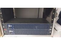 DBX 1231 Dual Band Graphic Equalizer