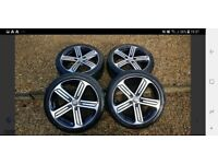 Vw golf alloys