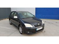 TOYOTA COROLLA 1.6 VVT-I AUTO COLOR COLN HATCHBACK, 5 Doors **PART SERVICE HISTORY**DRIVES PERFECT**