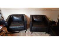 Leather designer seats