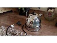 waring silver kettle