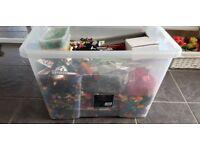 Large Tub of Lego and Mini-Figures