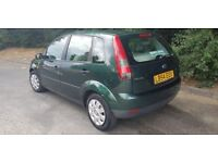 Automatic Ford Fiesta 54 plate with very low mileage 07903496696