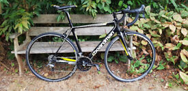 Boardman Team Carbon 2014 Frame size 54 With upgraded to 105 Shimano brakes