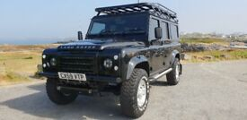 STUNNINGLY BEAUTIFUL 2009 DEFENDER 110, 1 PRIVATE OWNER,70 K, AND F.S.H.