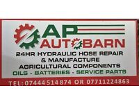 AP AUTOBARN NOW OPEN FOR ALL YOUR OILS FILTERS AND HYDRAULICS
