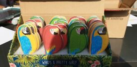 Sass and Belle Parrot Nail Files