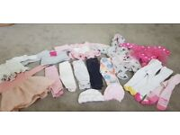 Baby girl clothes large bundle 0-3months