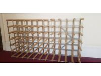 Large 77 bottle wine rack - Magnums