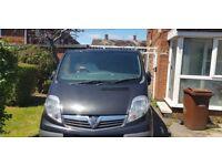 Vauxhall vivaro 2013 (crew cab)