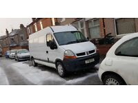 Cheap man with van in Nuneaton Coventry rugby Warwick and Warwickshire area with long wheel base van