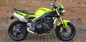 2008 TRIUMPH SPEED TRIPLE 1050 12 MONTHS MOT 2 OWNERS FROM NEW SUPERB CONDITION