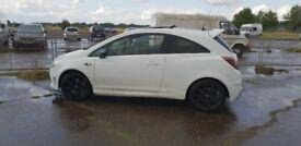 Corsa vxr turbo arctic limited edition*421 of 500 made low miles ful mot fsh fast car k1 audi golf