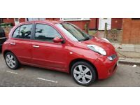 Nissan Micra SAT NAV model MOT 2018 OCT 5 doors 60k mileage