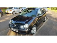 2005 VW Volkswagon Polo 1.4 51,000 miles, automatic, excellent condition, petrol, lady owner