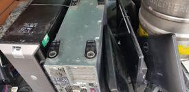 Hard drives and monitors