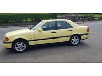 MERCEDES-BENZ C CLASS 1.8 C180 ESPRIT**MANUAL**12 MONTHS MOT**Part-Ex BARGAIN £795 (yellow) 1995