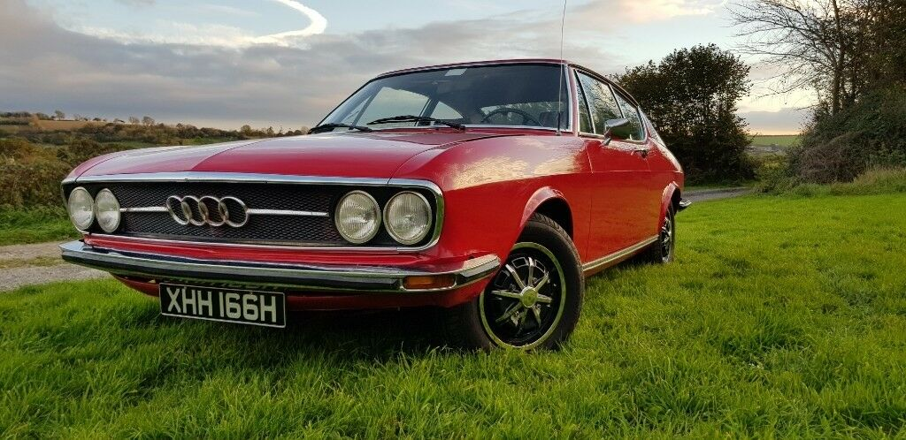 Audi 100 Coupe S 1970 Full 12 Months MOT Super Condition South African Import - UK Registered ...