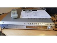 Denon DVD player with remote control