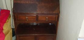 Bureau Mahogany Vintage with key