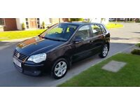 2008 VOLKSWAGEN POLO 1.2 MATCH 60, 88K, RCL, E/W, LOW INSURANCE GROUP & 3 MONTH WARRANTY!