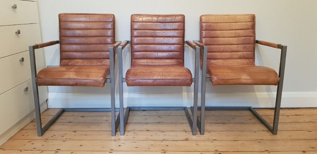 Enjoyable Industrial Chic Titus Vintage Retro Leather Chair Like New House Clearance In Crystal Palace London Gumtree Dailytribune Chair Design For Home Dailytribuneorg