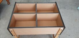 Small Beech Wooden Storage Units ( 2 Available)