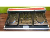 Pioneer CDJ-350 & DJM-350. MILTON KEYNES / LONDON COLLECTION. £750 ONO