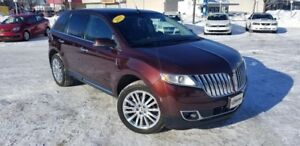 2012 Lincoln MKX AWD GPS CUIR CAMÉRA RECUL MAGS