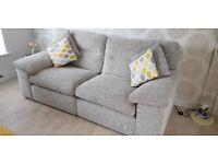 3 seater nearly new sofa