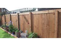 Fencing,decking all joinery work undertaken