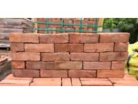 68MM RECLAMATION FULHAM RED BRICKS - 15,000 AVAILABLE.