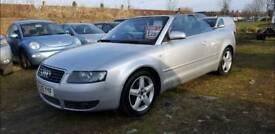 Audi A4 1.8T Sport Convertible.. 05 Plate