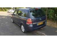 VAUXHALL ZAFIRA DIESEL + AUTOMATIC + 7 SEATER + ANY OLD CAR PX WELCOME + BARGAIN CLEARENCE
