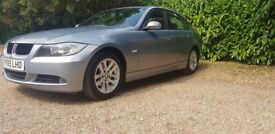 BMW 320D automatic, cream leathers
