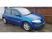 RENAULT MEGANE ( AUTOMATIC ) 1,6 TOP SPEC LEATHERS ,, ( ANY OLD CAR PX WELCOME )