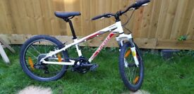 Boys Specialised Hotrock 20inch Wheel 6 Speed Front Suspension Bike R.R.P. £250