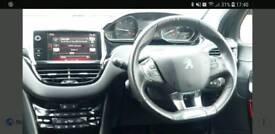 Peugeotgt line steering wheel