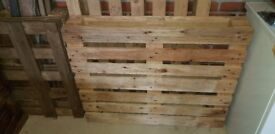 3 wooden pallets-free