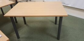 Wooden Straight Table