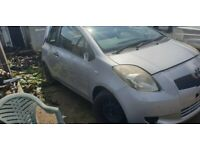 Toyota Yaris all makes and models Breaking for Spares all years available .
