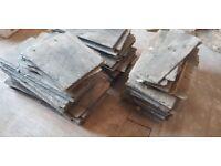Used Roof Slate tiles