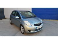 TOYOTA YARIS T3 HATCHBACK 1.3cc 5 drs *FULL SERVICE HISTORY*ONE PREVIOUS OWNER*LOOKS HALF THE MILES*