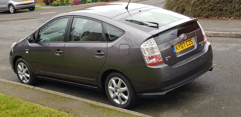 Toyota Prius 1 5 Hybrid 2007 Reg Grey Full Service History Very Low Miles Mint Drive Px Welco