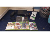 Xbox 360 E 250GB Bundle (Official Wireless Headset, Official Controller, 7 Games)