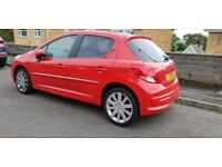 Peugeot 207 1.6 allure 5dr...Part leather seats,Panroof,A/C,auto lights/wipers