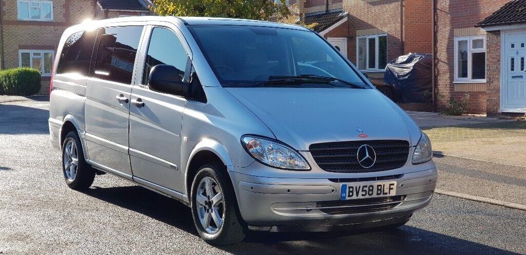 2008 (58) mercedes vito 109 cdi 8 seater minibus jubilee