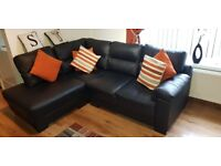 Corner sofa and chair for sale, 5 months old. Perfect condition. £450 ONO