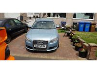 Audi A4 A-line, spares or repair, non runner, full leather, full service history, turbo issue