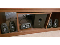 Speakers - Logitech Z506 Surround Sound Speakers Home Stereo